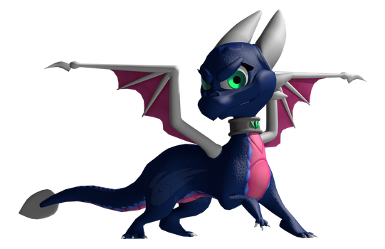 Cynder the Dragon: Ripto's Rage by FaithSDK