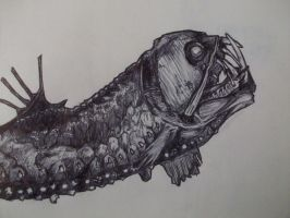 Sketchbook 6 - Viperfish by pencilpirates