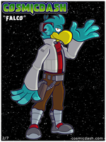 Star Fox Cosplay Series: Falco by hpkomic