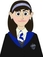 Ravenclaw Girl by isnani