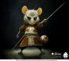 Alice - Dormouse by michaelkutsche