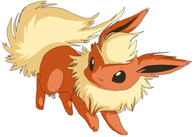 Rough Tacky Quickie Flareon by Shineymagic