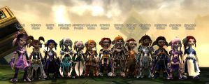 Guild Wars 2 - More asura chars 3.0 by MADt2