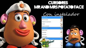 Cursor Mr. and Mrs. Potato Face {Toy Story} by Cursorsandmore