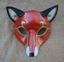 Venetian Fox Mask by merimask