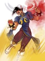 Mad Chun Li by Nutthead