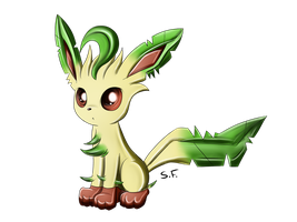 Leafeon by GrowingLight