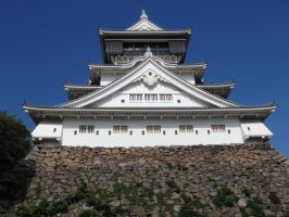 Kokura Castle 3 by SHiNiGAMi-Xiii