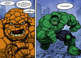 Clobberin Time by JNcomix