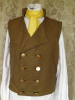 Sweeney Todd inspired waistcoat PCW4-3 by JanuaryGuest