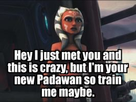 I just met you: Ahsoka by Agacora