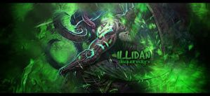 illidan tag by dsquaredgfx