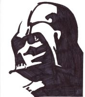 Darth Vader by crazygundamfan12