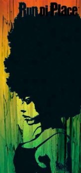 afro girl by koermaet