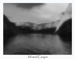 Infrared Canyon by kaiack