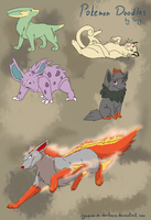 Pokemon doodle by Iguana-in-Darkness