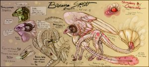 Banana Splitt species refsheet by Anarchpeace