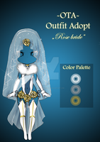 (Closed) Offer to adopt - Rose bride by CherrysDesigns