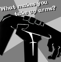Taking up arms by SinfulFreedom