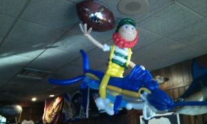 Millers Ale House Man Balloon by NoOrdinaryBalloonMan
