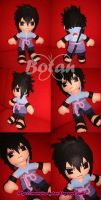 Sasuke plush version by Momoiro-Botan