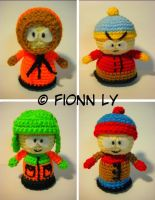 South Park Amigurumi 1 by brkn-nsprtn