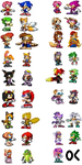 Parejas Sprites by ameth18