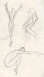 Sexy Dancer Sketchs by mljedi