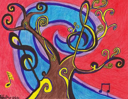 Music Tree by Shade77