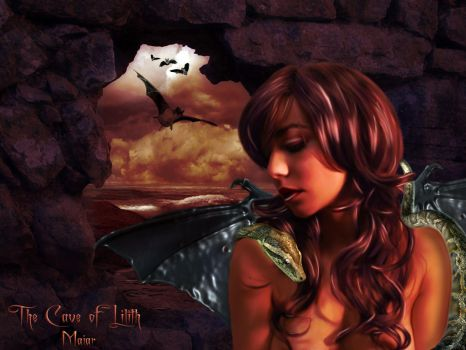 The Cave of Lilith by maiarcita