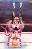 MS MARVEL vs TITANIA WRESTLING by JUN DE FELIPE 02 by rodelsm21