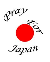 Pray For Japan by Kitatha