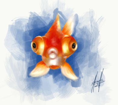 Doodle Doodle Fish by charychu