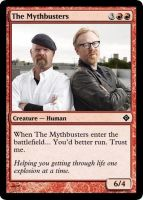 Mythbusters Magic Card by Dralogel