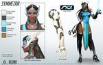 Symmetra - Overwatch - Close look at model by PlanK-69
