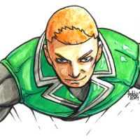 Daily Sketches Guy Gardner by fedde