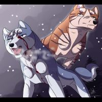 Ginga: Fight, son! by tussensessan