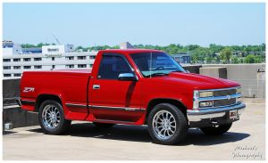 A Sharp Z71 Chevy Truck by TheMan268