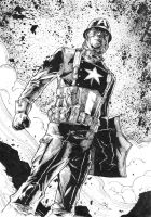 WWII Captain America by abc142