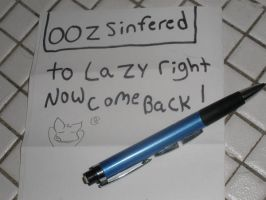 to lazy by oozsinfered