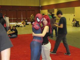 Spider-Man and Mary-Jane by Praxiusalternate