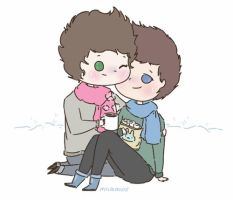 Wintery Larry by milamint
