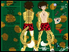 Willaim Ref Sheet by Galaxys-Most-Wanted