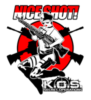 K.O.S. Shirt print by redgvicente