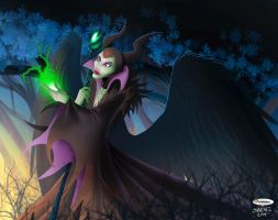 Maleficent by El-Mono-Cromatico