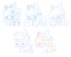Dainty Blues Adopts [Open] by pinktoys