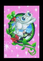 Funny Cat Xmas Card by KingZoidLord