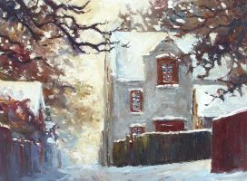 First Snow in Pangone 2 by litka
