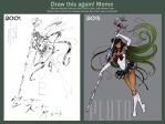 Draw This Aagain Meme: Eternal Sailor Pluto by Tomecko