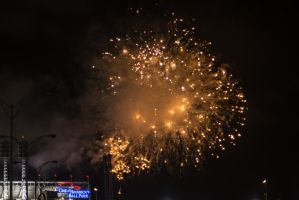 Fireworks Friday at GABP by PLutonius